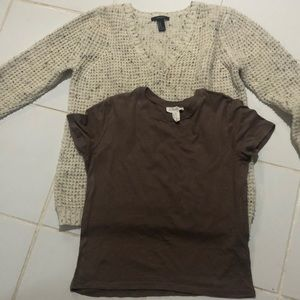 Forever 21 bundle sweater and shirt